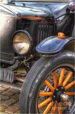 Front Wheel Axle Art Print by Heiko Koehrer-Wagner