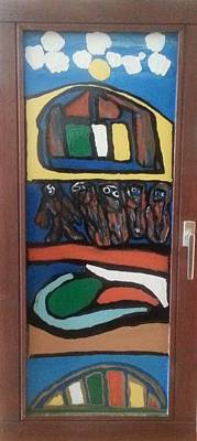Integrated Painting - Front Window by Darrell Black