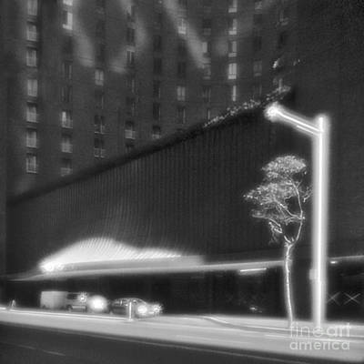 Pinhole Photograph - Frontage Of Hotel In Sydney by Colin and Linda McKie