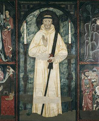 Medieval Temple Photograph - Frontal Of The Altar Of Saint Bernard by Everett