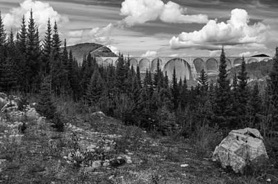 Photograph - Frontal View Of Manic 5 Dam by Arkady Kunysz