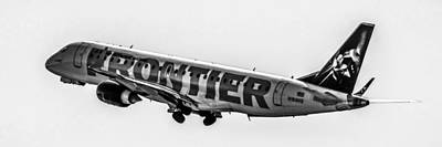 Frontier Airways Art Print by Chris Smith