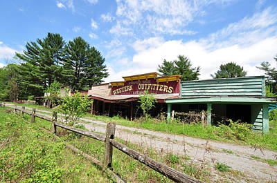 Photograph - Frontier Town North Hudson Ny by David Seguin