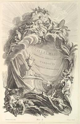 Eugene Drawing - Frontispice Pour Le Tombeau De by Pierre Louis Surugue