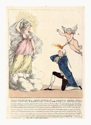 Frontispiece To Reflections On The French Revolution Art Print