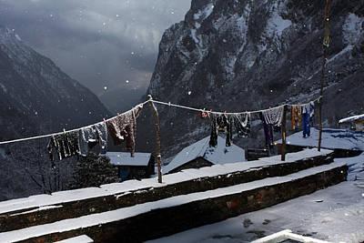Photograph - Frosen On The Mountain  by Aidan Moran