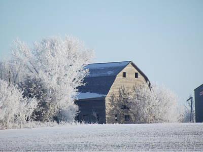Photograph - Frost Farm by Bonfire Photography