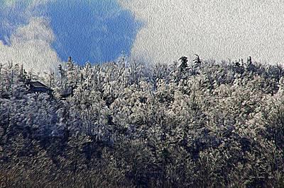 Frost Line 2 Art Print