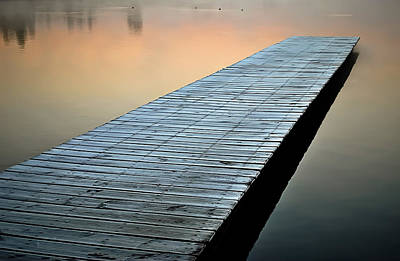 Photograph - Frost On The Dock by Greg Jackson