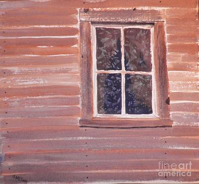 Painting - Frost On The Window by Suzanne McKay