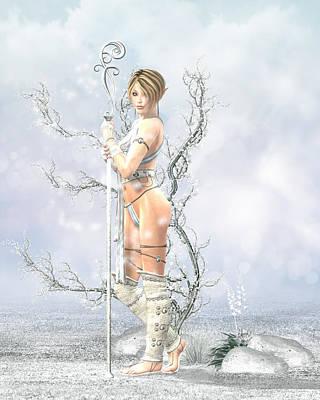Sorceror Digital Art - Frost by Tori Beveridge