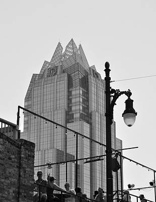 Photograph - Frost Tower In Austin by Kristina Deane