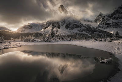 Alberta Photograph - Frosted Kingdom by Enrico Fossati