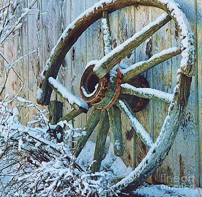 Frosted Wheel Original by Roland Stanke