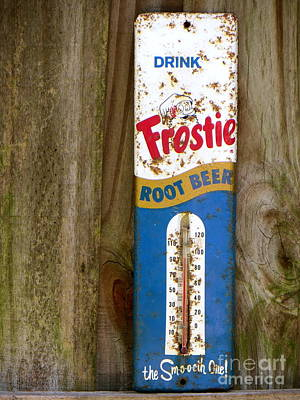 Art Print featuring the photograph Frostie Root Beer  by Joy Hardee