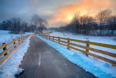 Photograph - Frosty Monon by Alexey Stiop