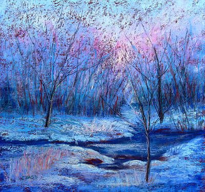 Frosty Morning Art Print by Christine Bass