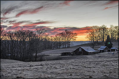 Photograph - Frosty Morning by Erika Fawcett