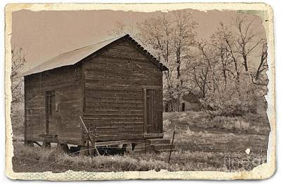Mixed Media - Frosty Morning Sepia 6 by Chalet Roome-Rigdon