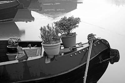 Af Vogue - Frosty On Board Garden - Shobnall Marina by Rod Johnson