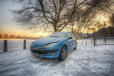 Photograph - Frosty Peugeot by Yhun Suarez