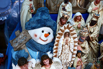 Frosty The Snowman Art Print by James Brunker