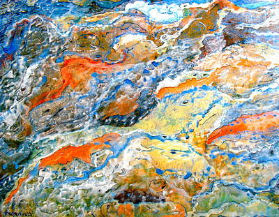 Painting - Froth by Karunita Kapoor