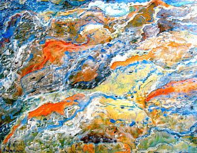 Painting - Froth by Karunita Kapoor