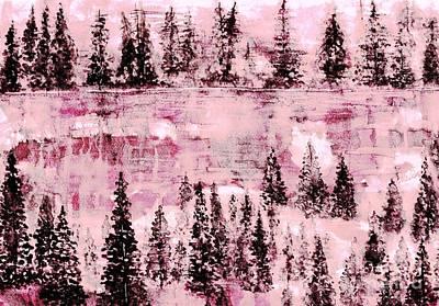 Painting - Frozen Beauty 1 by Hazel Holland