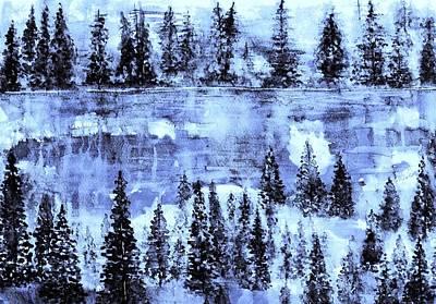 Painting - Frozen Beauty 2 by Hazel Holland