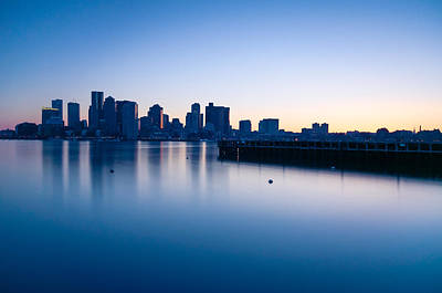 Photograph - Frozen Boston by Lee Costa