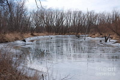 Photograph - Frozen Creek by Mark McReynolds