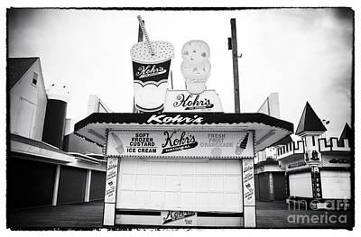 Seaside Heights Photograph - Frozen Custard by John Rizzuto
