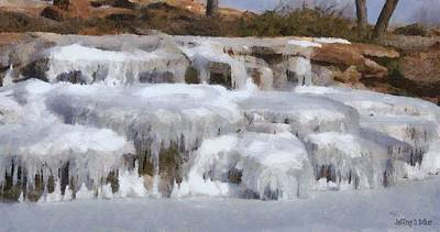 Painting - Frozen Falls by Jeffrey Kolker