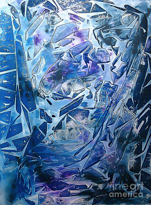 Painting - Frozen by Heather  Hiland