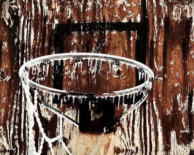 Photograph - Frozen Hoop by Benjamin Yeager
