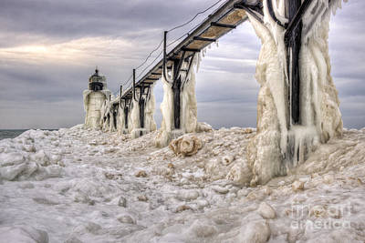 Photograph - Frozen In Time by Scott Wood