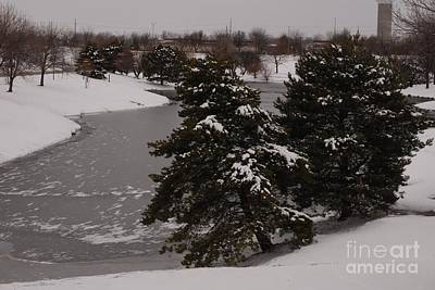 Photograph - Frozen Lake by Mark McReynolds