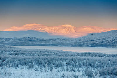 Cold Temperature Photograph - Frozen Landscape, Cold Temperatures by Panoramic Images
