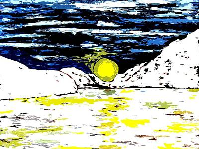 Frozen Landscape Art Print by Patrick J Murphy