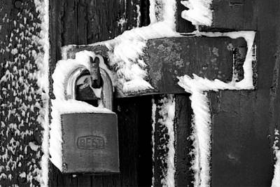 Photograph - Frozen Lock At Mount Fremont by Daniel Woodrum