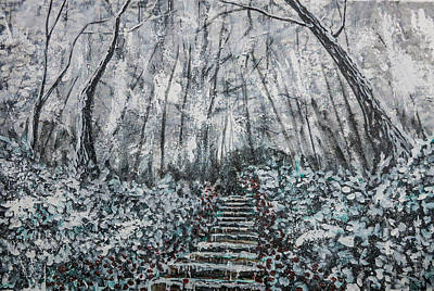 Painting - Frozen Memories by Joel Tesch