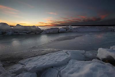 Photograph - Frozen Missouri by Aaron J Groen
