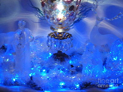 Photograph - Frozen Nativity by Ronda Douglas