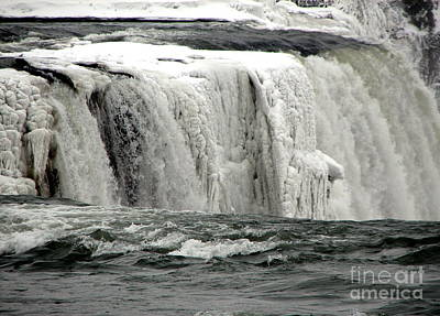Photograph - Frozen Niagara Falls After Blizzard Of 2014 by Rose Santuci-Sofranko