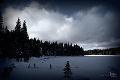 Frozen Nickel Plate Lake Art Print by Guy Hoffman
