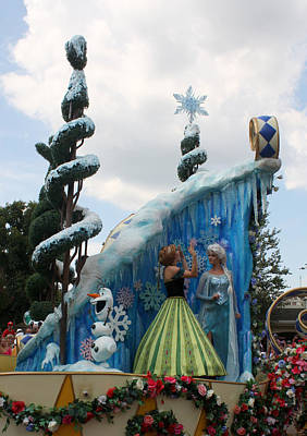 Photograph - Frozen Parade by David Nicholls