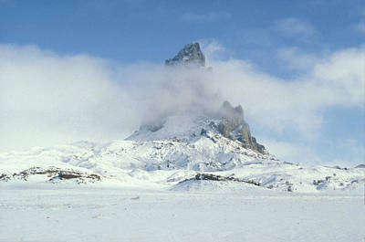 Photograph - Frozen Peak 1001 by Brent L Ander