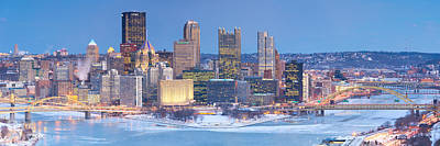 Photograph - Frozen Pittsburgh 7 by Emmanuel Panagiotakis