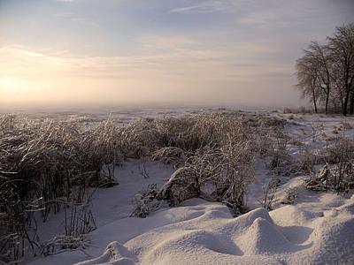 Photograph - Frozen Riviere Des Mille Iles by Juergen Weiss
